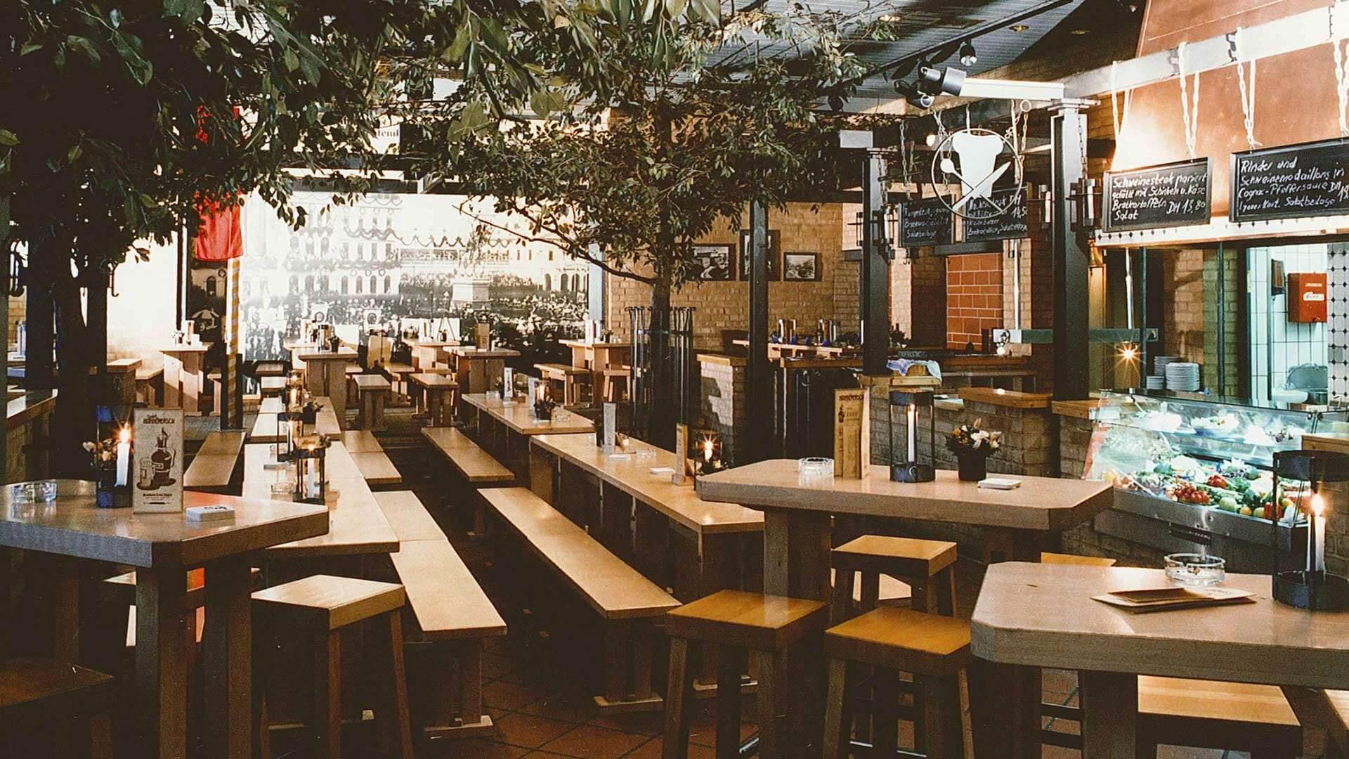 Brauhaus Gastraum 1986