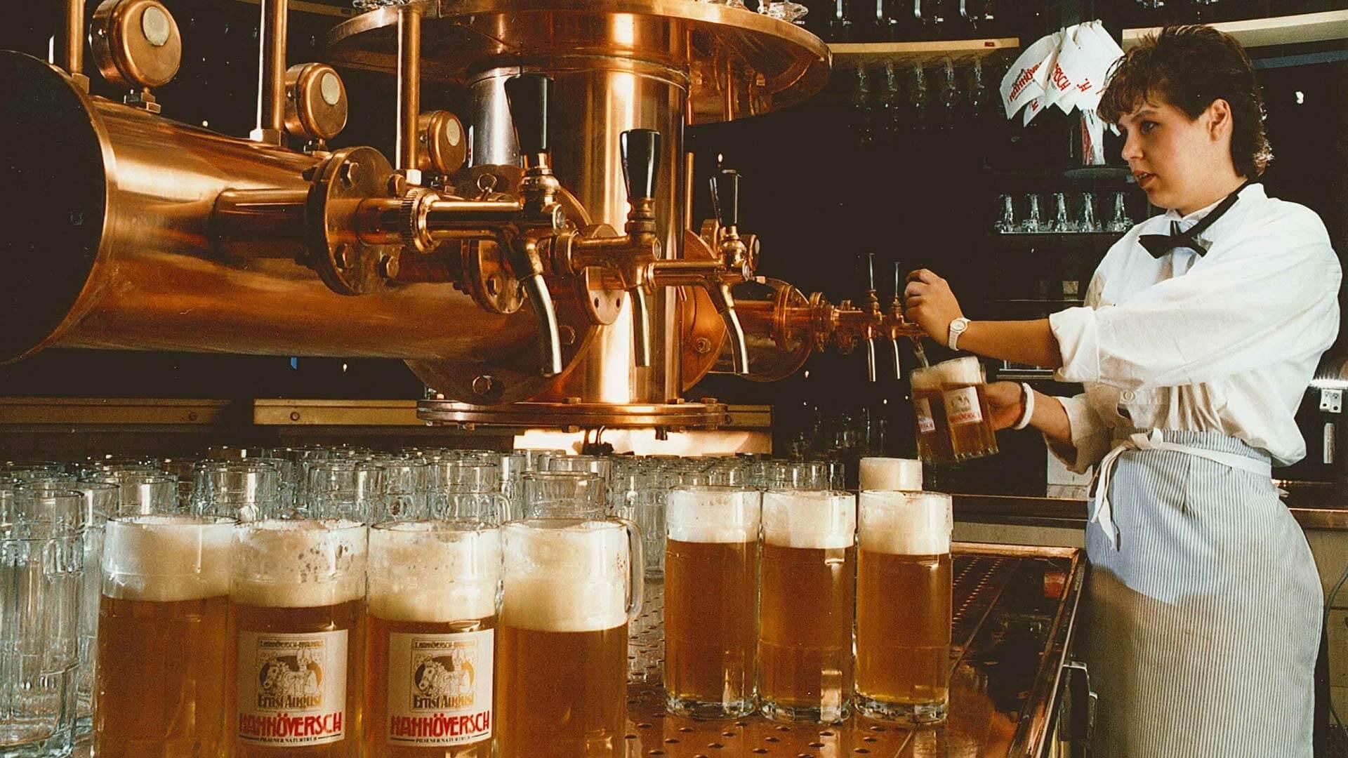 Brauhaus Theke 1986