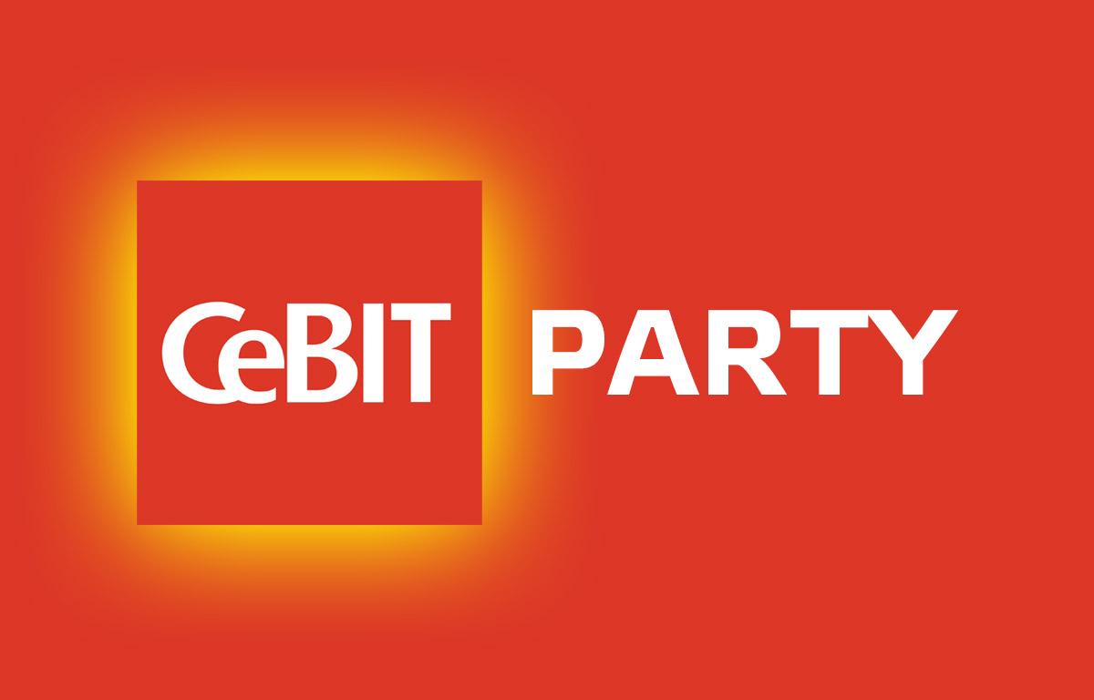 CeBIT Messe Party