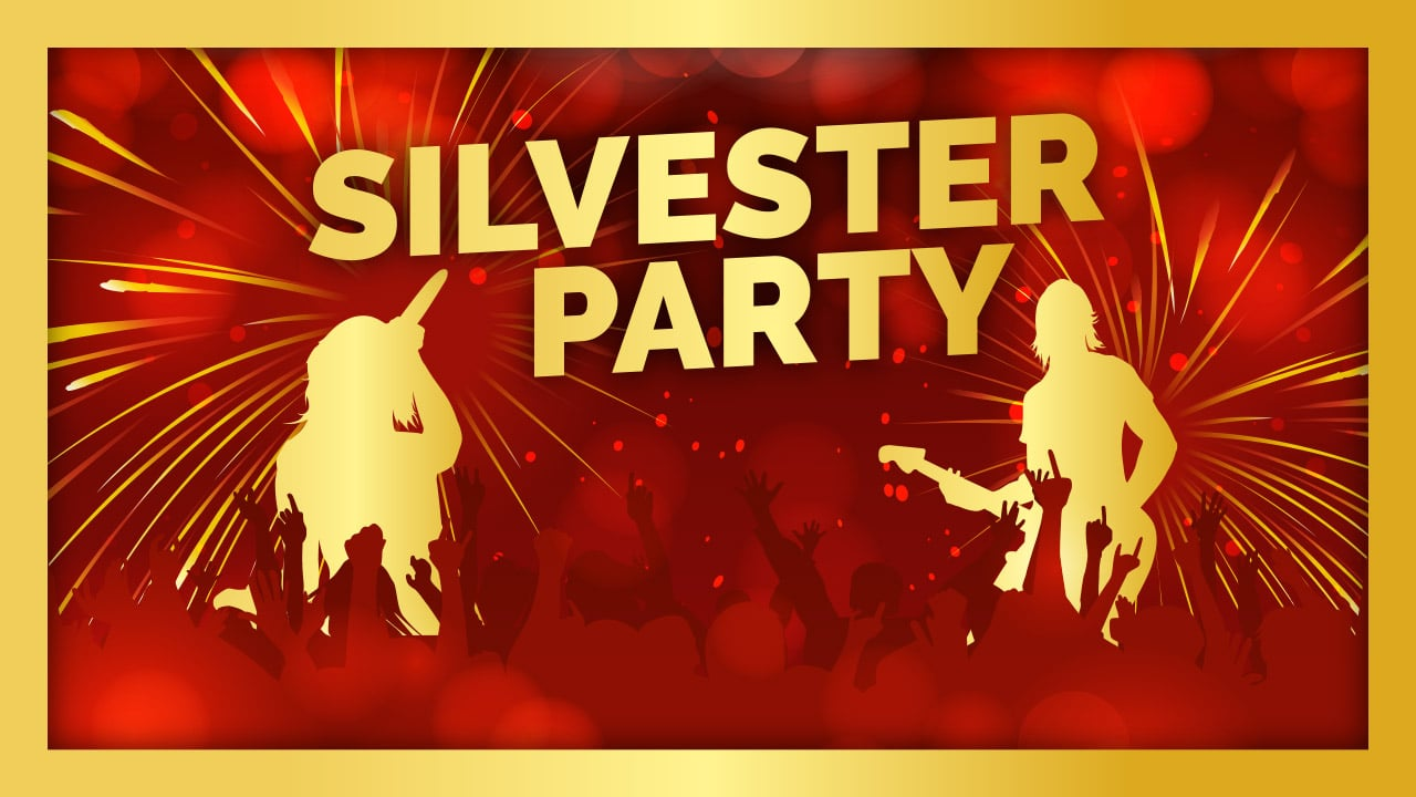 Silvester-Party 2018/2019: live mit BÄM, DJ Maik & DJ Chris