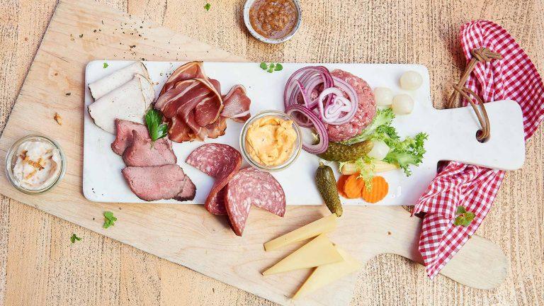 Brauhaus-Vesper im Restaurant