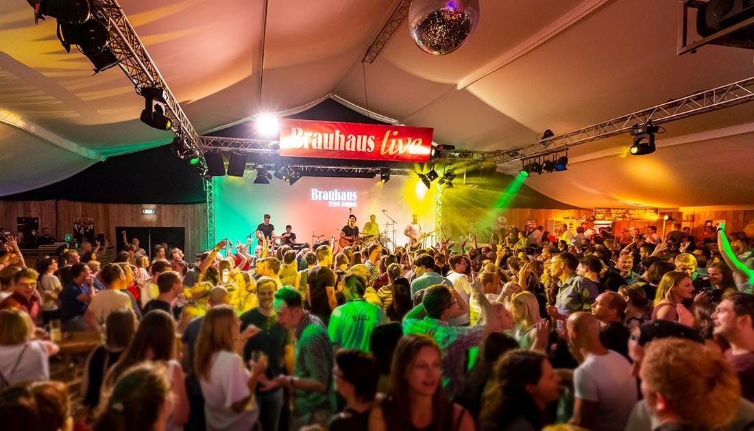 Brauhaus-live Bühne