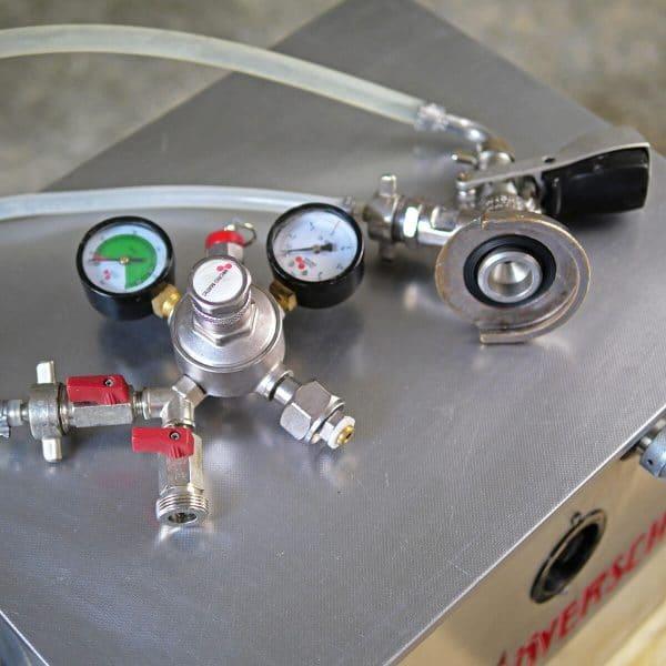 Zapfanlage mit KEG + Manometer