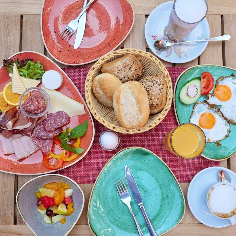 Frühstück in Hannover