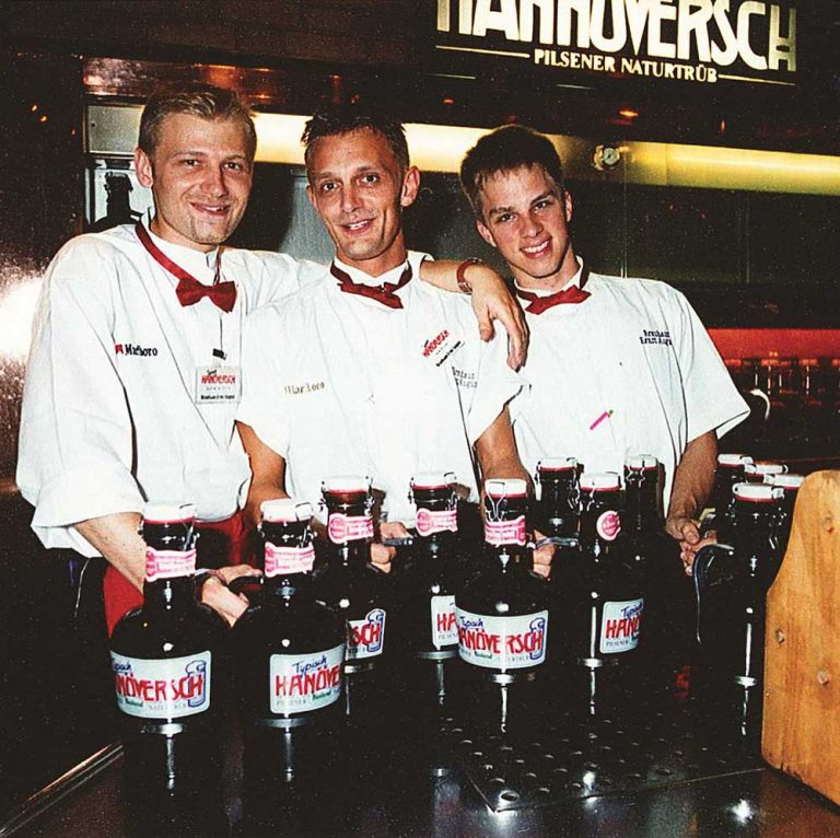 Brauhaus-Kellner in 1990er Jahren